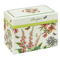 Botanic Garden Recipe Box