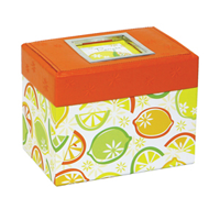Lemon Twist Garden Recipe Box